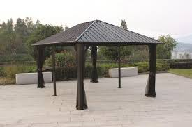 metal roof gazebo probrains org