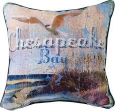 chesapeake bay pillow 18x18 mwwslchsb 7 15 toys housewares