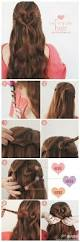 easy party hairstyles for medium length hair best 25 heart hair ideas on pinterest heart hairstyles i heart