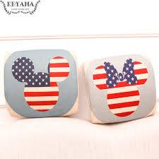 canap mickey 1 pcs drapeau américain mickey mouse mémoire mousse coton home