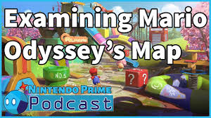 Odyssey Map Examining Super Mario Odyssey U0027s World Map Nintendo Prime Podcast