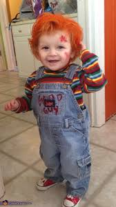 chucky costume toddler child s play chucky baby costume diy