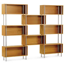 furniture home metal and wood 55 etagere bookcase design modern