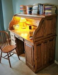 Oak Computer Desk With Hutch by Oak Roll Top Computer Desk Roll Top Desks Pinterest Top