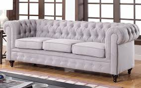 Linen Chesterfield Sofa by 56 Double Recliner Sofa Double Reclining Sofa 1710 62 Signature