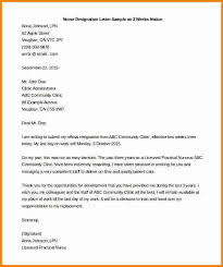 Sample Of A Resignation Letter From A Job Sample Resume Format by Nursing Resignation Letter