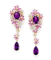 amy amethyst 18ct white gold ganjam u0027s new le jardin jewellery collection purple amethyst
