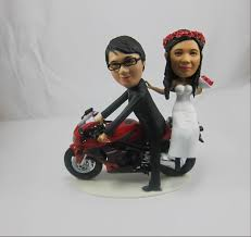 Unique Wedding Cake Toppers 3d Printed Mini Me Bobbleheads As Unique Wedding Cake Toppers