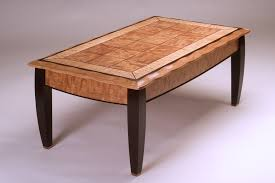 Cherry Coffee Table Made Figured Cherry Coffee Table By Neal Barrett Woodworking