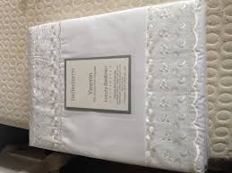 brand new and in original packaging belledorm white bed set bed