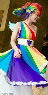 Pony Rainbow Dash Halloween Costume Diy Pony Costume Maskerix