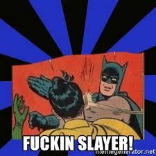 Batman Slap Robin Meme Generator - fuckin slayer batman slaps robin meme generator