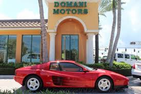 1989 testarossa for sale gasoline testarossa for sale used cars on buysellsearch