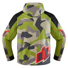 green motorcycle jacket icon merc jacket