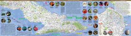 Tourist Map Of New Orleans by Naturesmart Cuba Map By Vandam Country Road U0026 Eco Travel Map Of