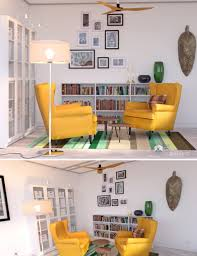 reading room 3d models and 3d software by daz 3d