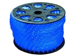 120 vac blue led rope light 3 8 inch diameter led light shack