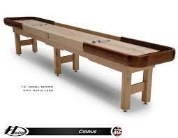 Shuffle Board Tables Outdoor Shuffleboard Table By Hudson