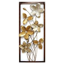 Metal Flower Wall Decor - metal flower wall decor 12x32 in at home at home