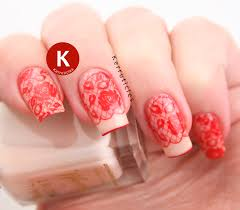 red lace nails fashion 40 great nail art ideas kerruticles