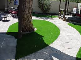 Backyard Landscaping Cost Estimate Synthetic Grass Cost Bluewater Arizona Lawns Backyard Landscaping
