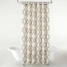 Jcpenney White Curtains J C Penney Fabric Shower Curtains Ebay