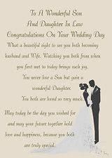 and in wedding card wedding card ebay