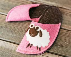 Womens Bedroom Slippers Fuzzy Slippers Etsy