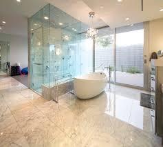 glass shower modern bathroom mid century modern home in