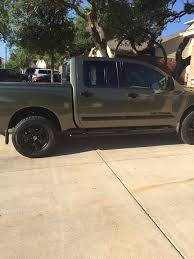 jeep rhino liner nissan titan forum rhino lined trim new paint job 2005 le 4x4