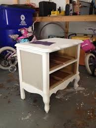 How To Repaint A Nightstand Best 25 Refinished Nightstand Ideas On Pinterest Redo