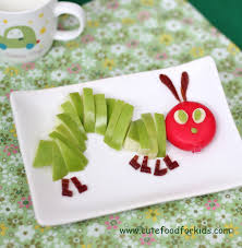 cute food for kids 22 the very hungry caterpillar inspired food