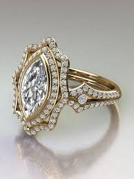 marquise cut diamond ring marquise cut diamond engagement ring in 18k yellow gold marquise