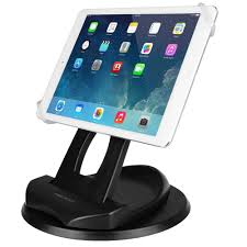 macally 2 in 1 swivel desk stand and hand strap holder for most