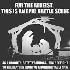 Baby Jesus Meme - baby jesus or two t rex s you decide imgur