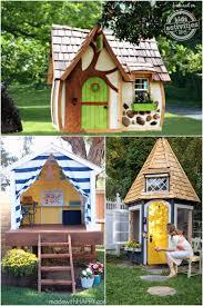 Backyard Forts For Kids Best 25 Childrens Outdoor Playhouse Ideas On Pinterest Kids
