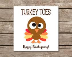 turkey toes etsy