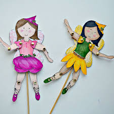 snugglebug university make your own fairy puppets