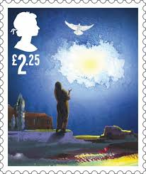 195 best christmas stamps images on pinterest postage stamps