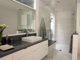contemporary white bathroom christopher grubb hgtv