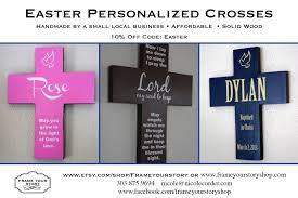 personalized crosses studiowed denver easter personalized crosses offer code frame