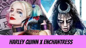 harley quinn x enchantress makeup halloween tutorial youtube