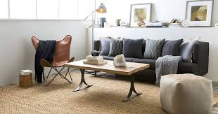 living rooms with jute rugs modern living room with jute rug