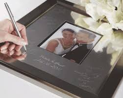 wedding autograph frame forgot the wedding guest book i do engravables
