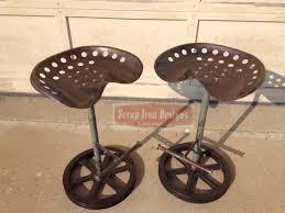 bar stools tractor seat bar stools with backs restoration
