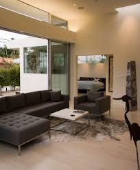Modern Sectional Sofa Living Room Modern With Accent Tables Media