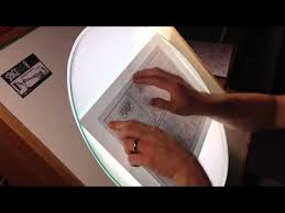 Drafting Table Light Rotating Light Table Youtube