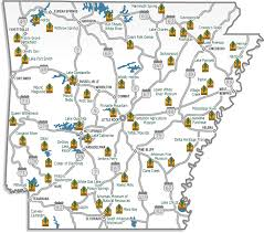 Arkansas National Parks images Map of the 52 arkansas state parks this interactive map gives you png