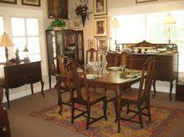 Thomasville Cherry Dining Room Set by Dining Room Varnished Rectangle Wood Dining Table Pads 6 Chairs