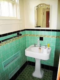Green Tile Bathroom Ideas 174 Best Vintage Green Tiled Bathroom Images On Pinterest